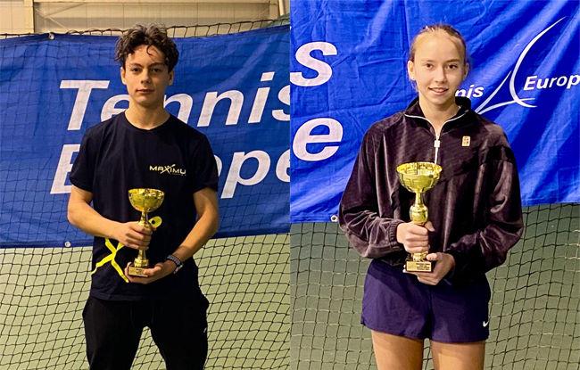 Дніпряни стали переможцями всеукраїнського тенісного турніру серед юніорів