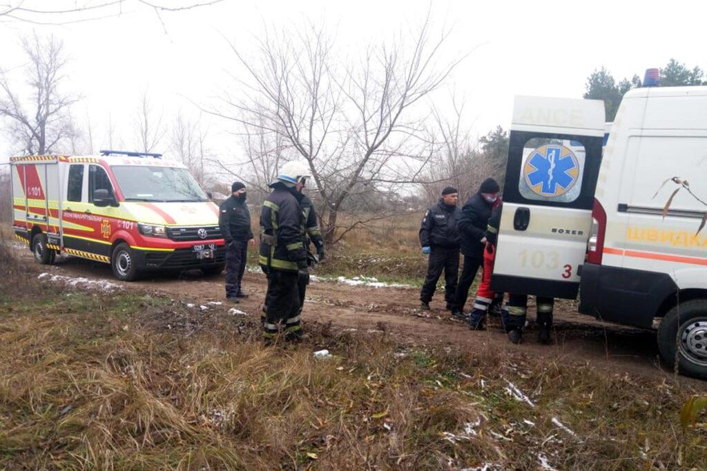 У Павлограді співробітники ДСНС надали допомогу чоловіку, який впав у кар'єр