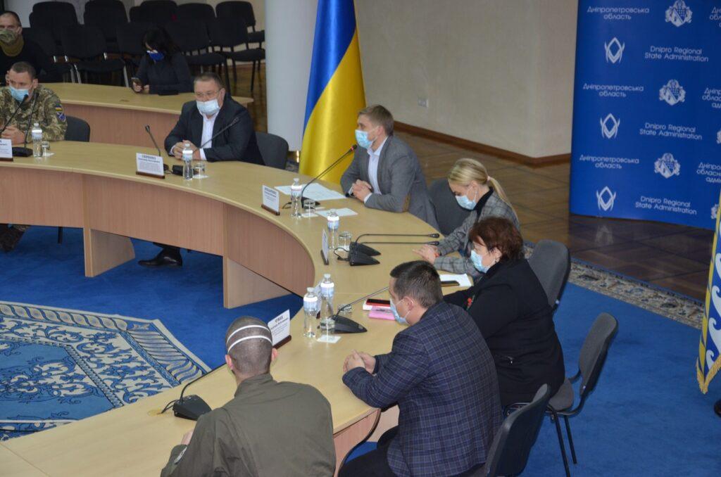 У Дніпропетровській ОДА нагородили волонтерів регіону