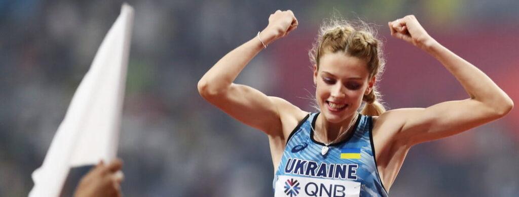 Дніпрянка Ярослава Магучіх перемогла на міжнародних змаганнях Udin Jump Development