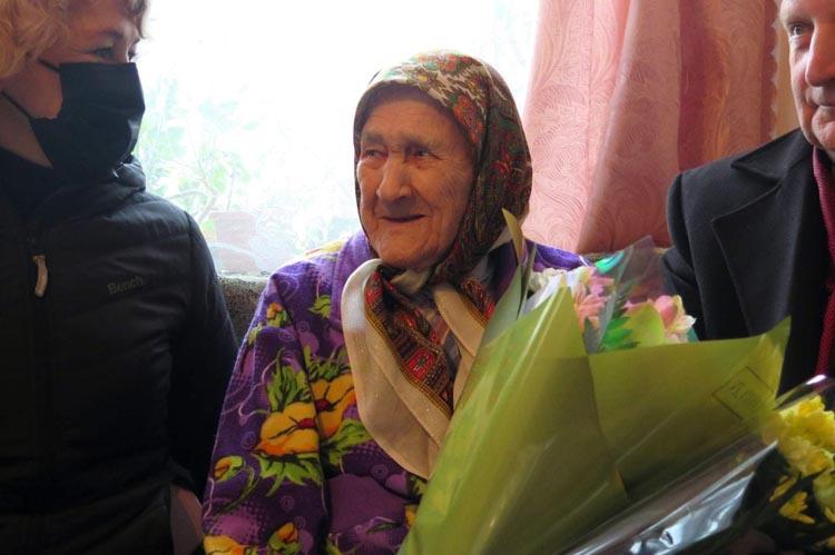 Мешканка Жовтих Вод відзначає 100-річний ювілей