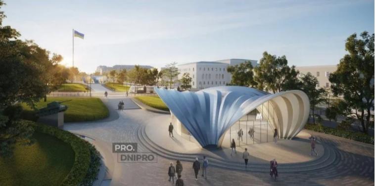 Від Zaha Hadid. Стало відомо, як виглядатимуть станції метро в Дніпрі, спроєктовані знаменитим бюро