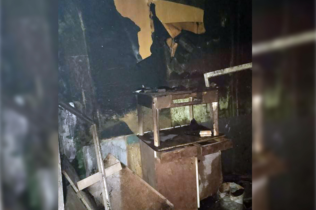 У Жовтих Водах на пожежі вогнеборці врятували 3 людей