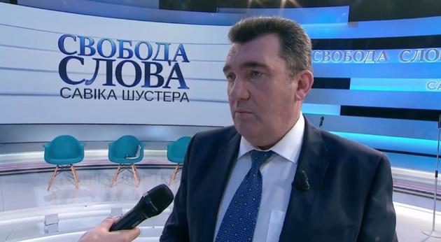 Секретар РНБО Данилов прокоментував введення санкцій проти Медведчука та його дружини