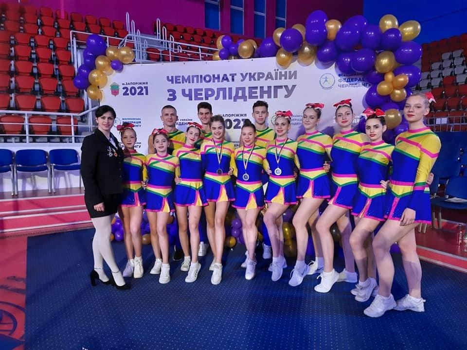 Дніпровські черлідери на Чемпіонаті України завоювали 26 медалей