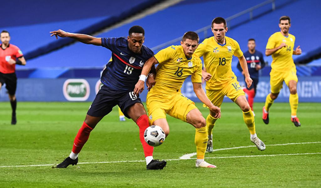 Збірна України з футболу зіграла внічию з французами