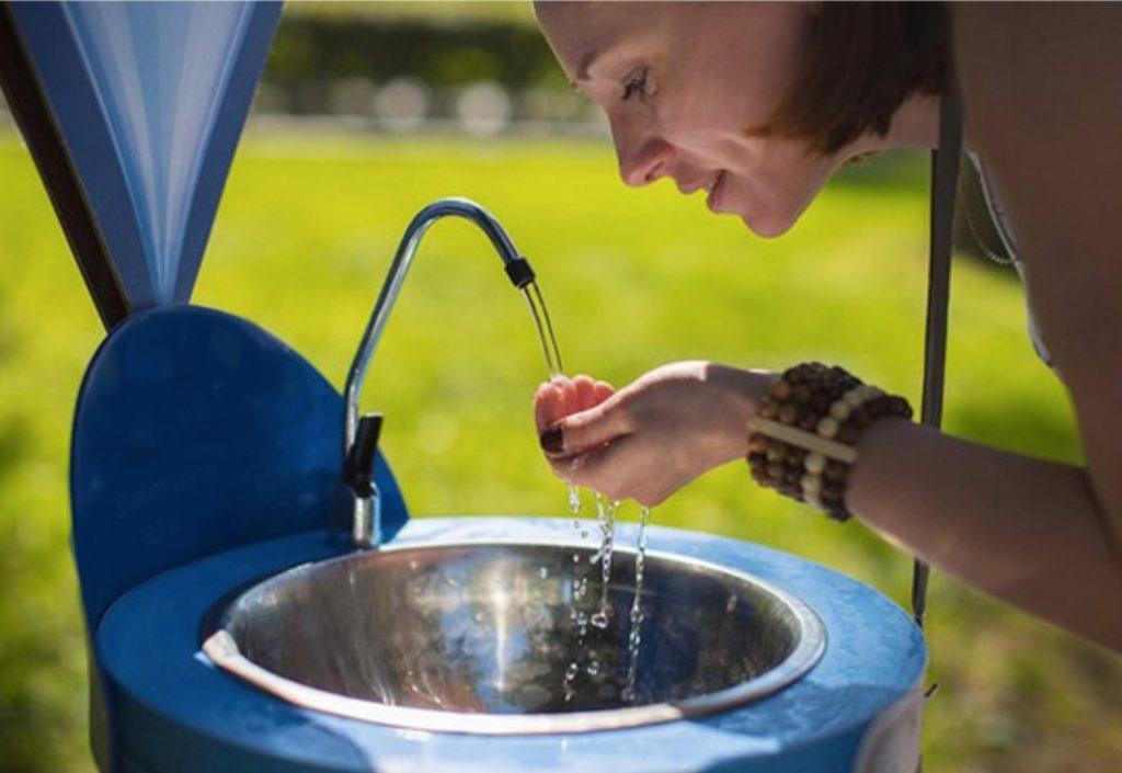 У розпал пандемії в Дніпрі встановлять фонтанчики питної води у громадських місцях