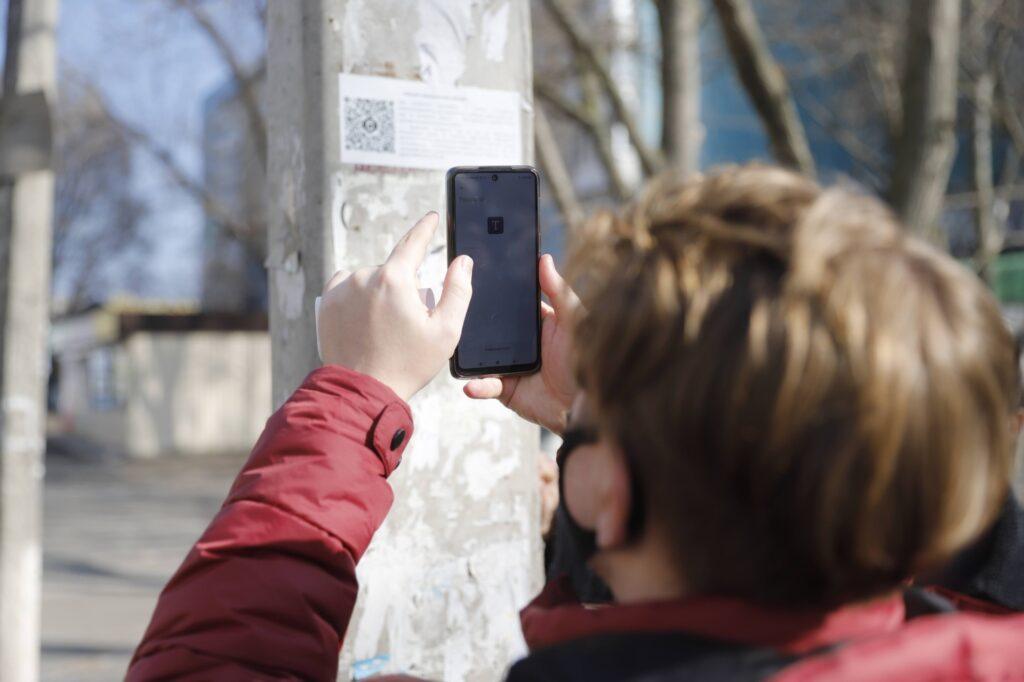 Мешканці Дніпра можуть отримати відео з камер ситуаційного центру за допомогою QR-кодів