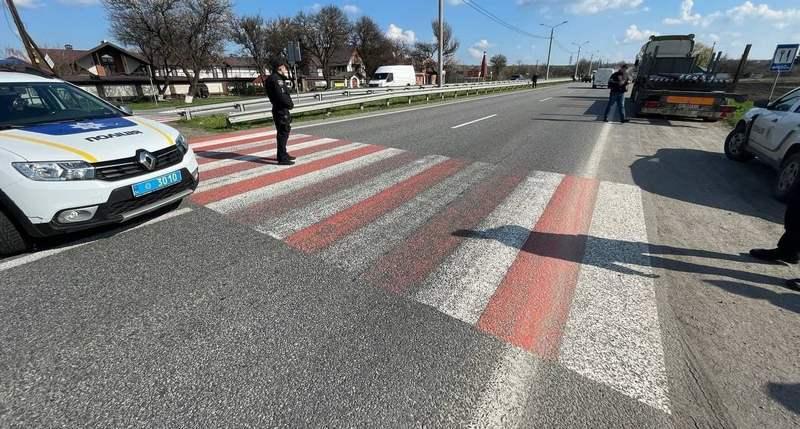 У Дніпропетровській області водійка збила двох дітей на пішохідному переході (фото)
