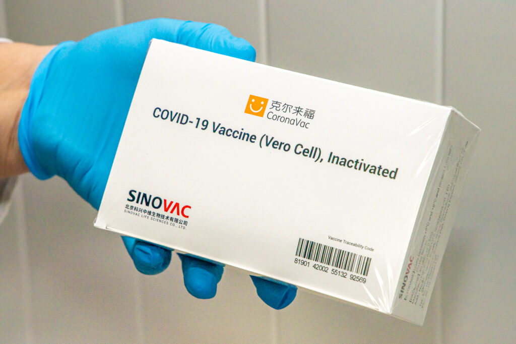 Дніпропетровщина отримала понад 11,5 тис доз китайської вакцини від коронавірусу