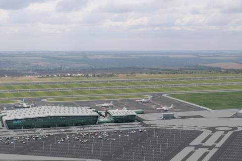 Іноземна компанія заблокувала будівництво аеропорту в Дніпрі