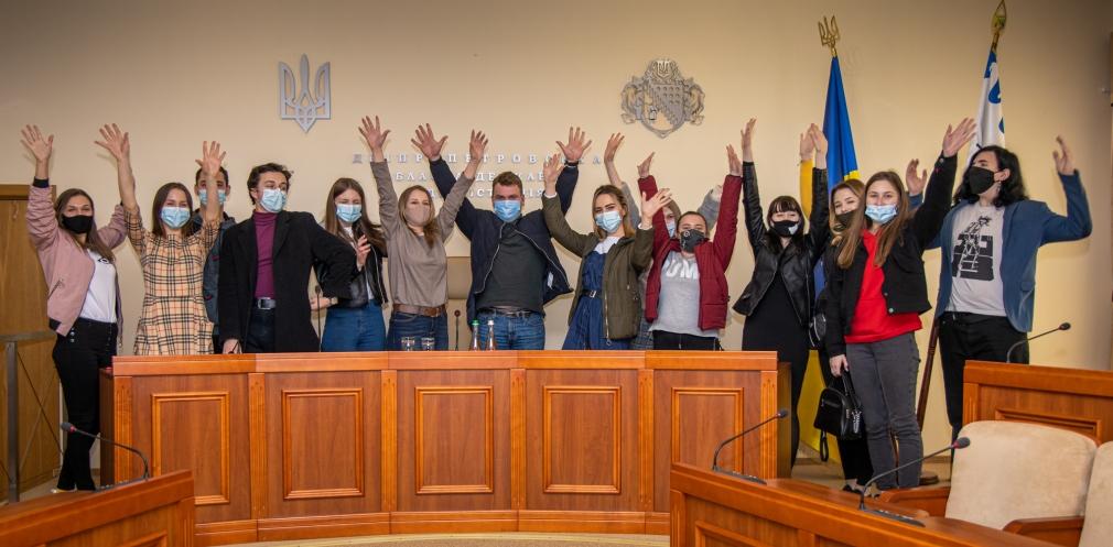 Школярі та студенти Дніпропетровщини побували на екскурсії в ОДА