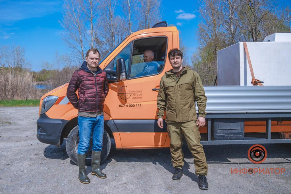 У Дніпро випустили 200 кілограм осетра в рамках криптоексперимента