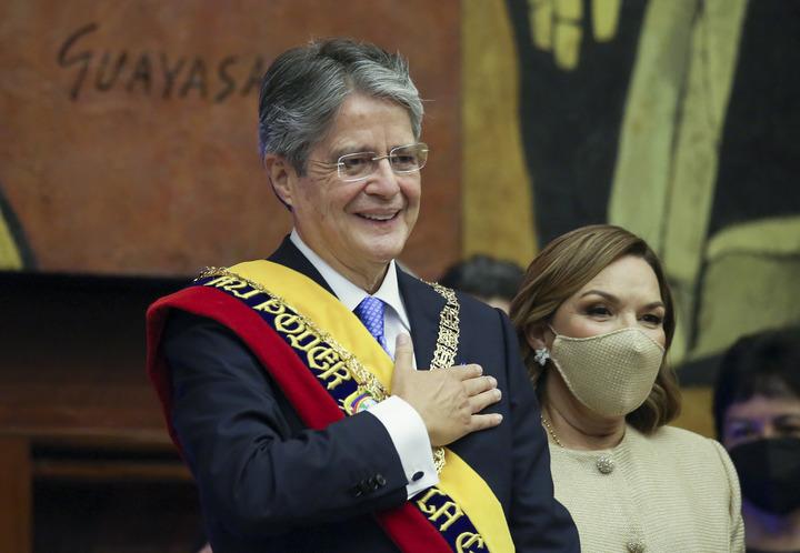 Новообраний президент Еквадору прийняв присягу