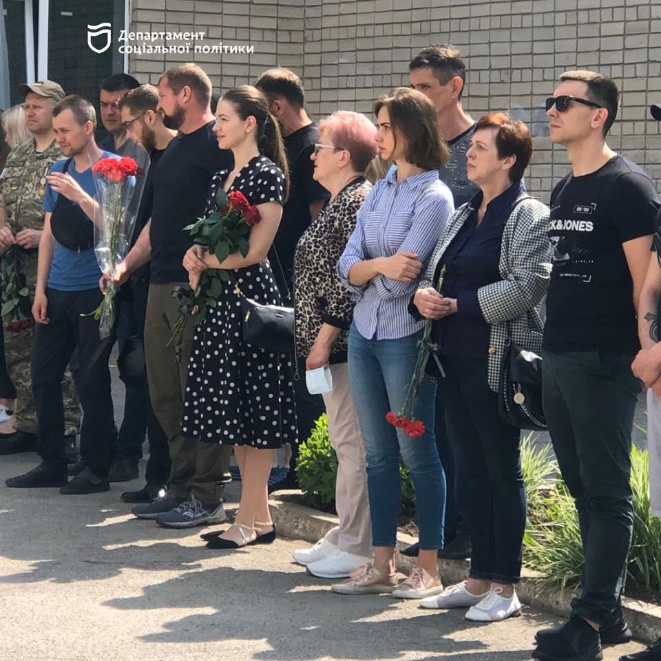 В Дніпрі відкрили пам'ятну дошку загиблому учаснику АТО