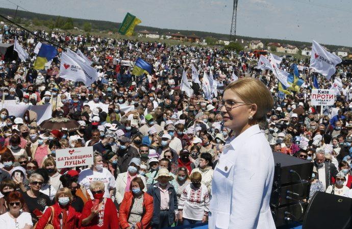 «Батьківщина» разом із людьми дали старт референдуму на захист землі