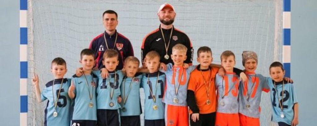 Юні футзалісти з Дніпра стали переможцями чемпіонату України