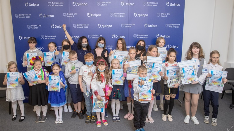 Конкурс дитячої творчості «Музей майбутього» завершено: у мерії Дніпра підбили підсумки