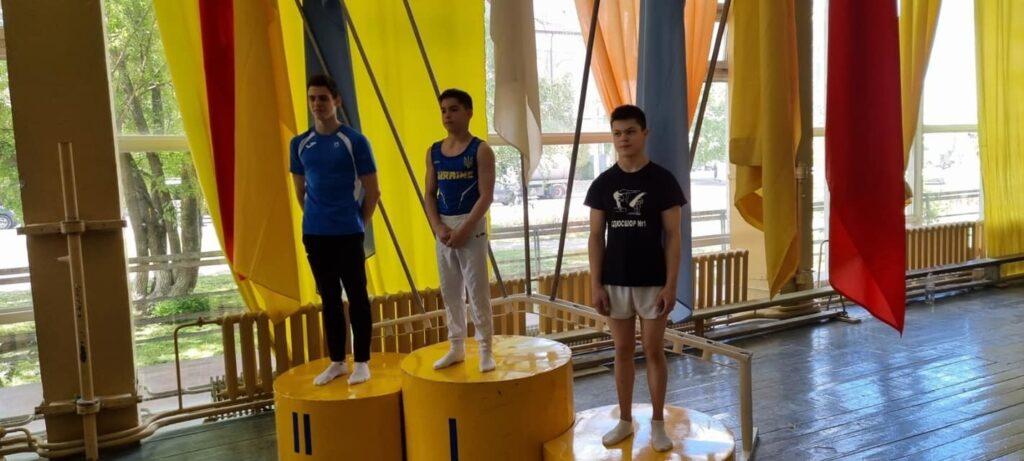 Дніпровські гімнасти вибороли призові місця на чемпіонатах України