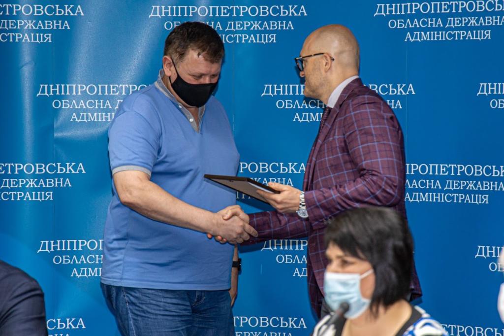 40 медиків регіону отримали відзнаку від ДніпроОДА