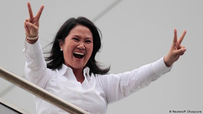 Перу: Кейко Фухіморі на чолі президентських перегонів