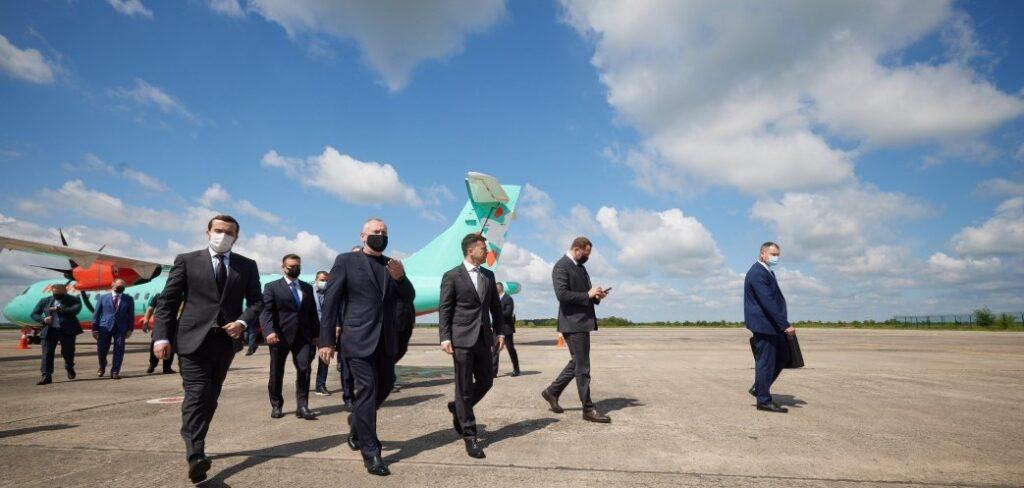 Президент Зеленський розпочав робочу поїздку до Дніпропетровської області