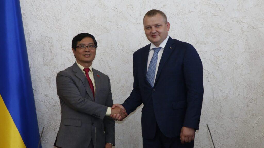 Дніпропетровщина налагоджує співпрацю з В'єтнамом