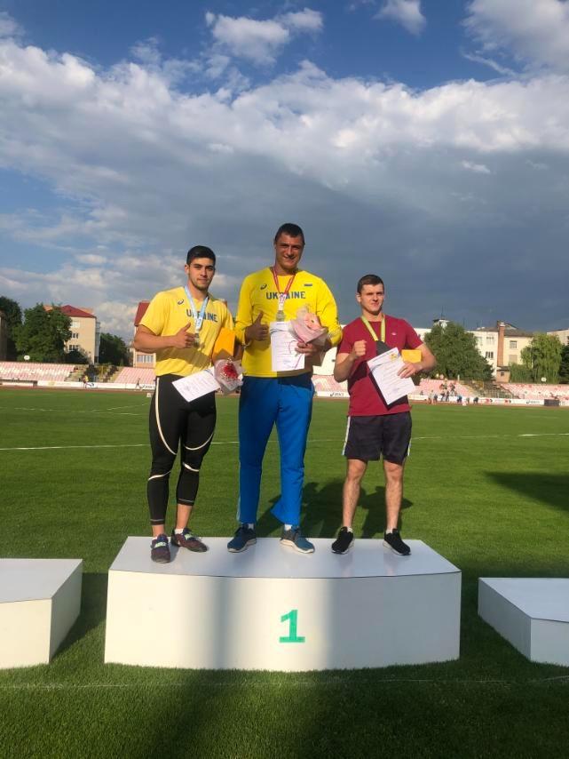 Спортсмени з Дніпра здобули п'ять золотих медалей на чемпіонаті України з легкої атлетики