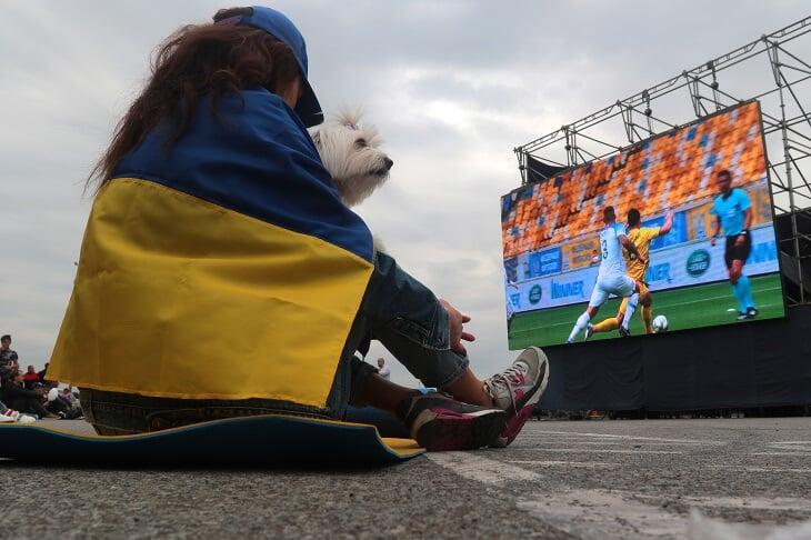 """У Дніпрі відкриють фан-зони для перегляду матчу """"Україна – Англія"""""""