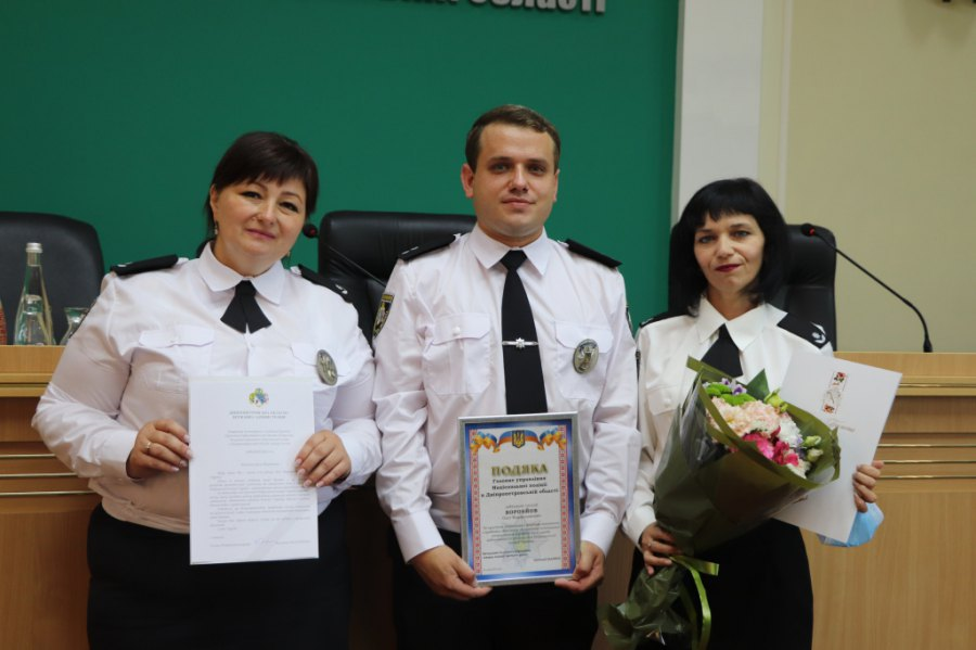 Напередодні професійного свята дніпровські поліцейські отримали нагороди