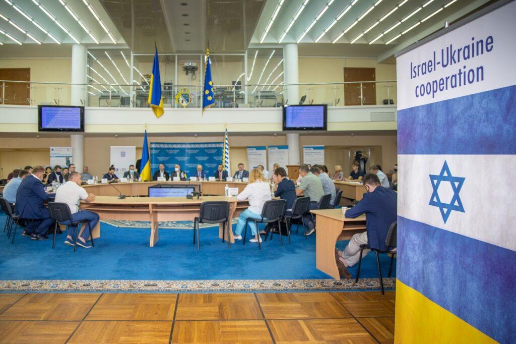 Ізраїльські бізнесмени у Дніпрі презентували власні розробки колегам з України