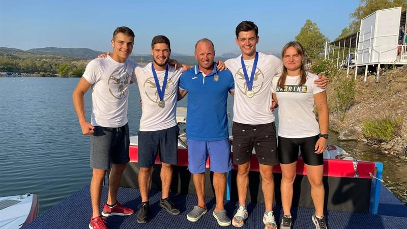 Дніпровські спортсмени стали призерами чемпіонату Європи з воднолижного спорту