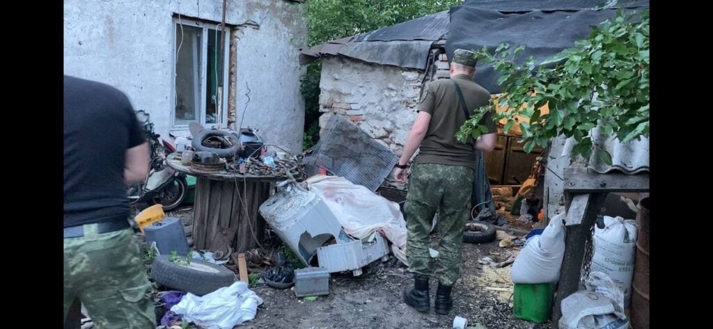 На Дніпропетровщині чоловік підірвався, розпилявши артилерійський снаряд Другої світової