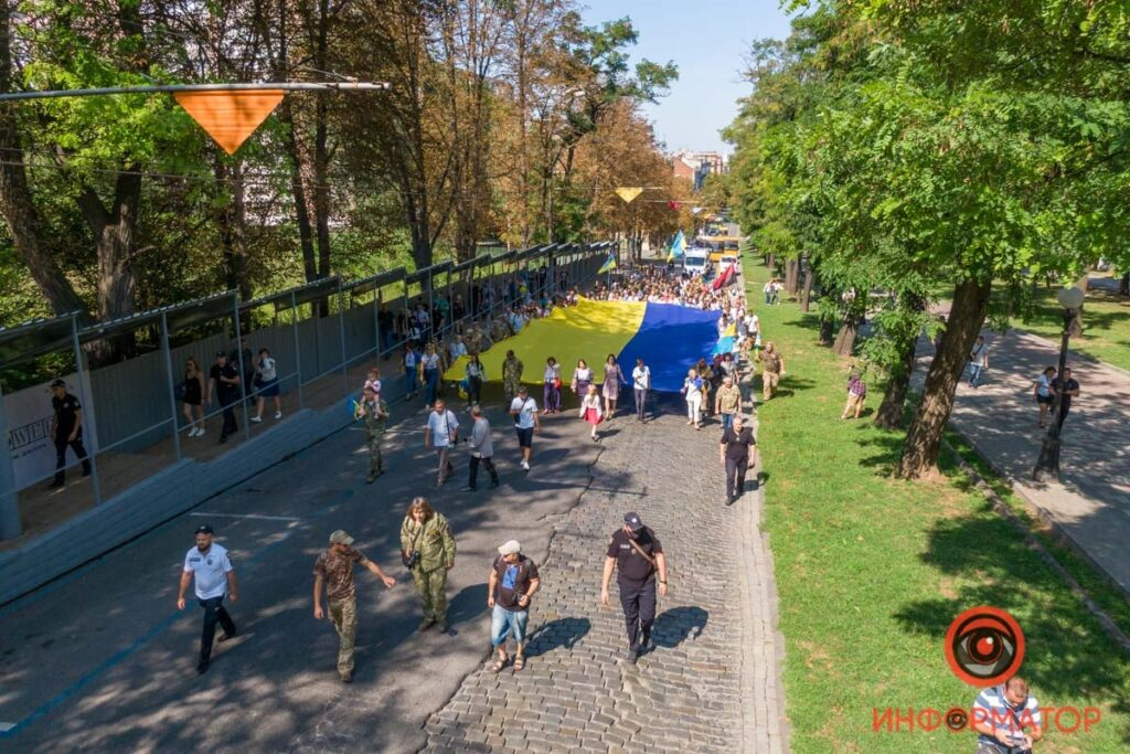 Дніпровська ідентичність на тлі святкування Дня Незалежності