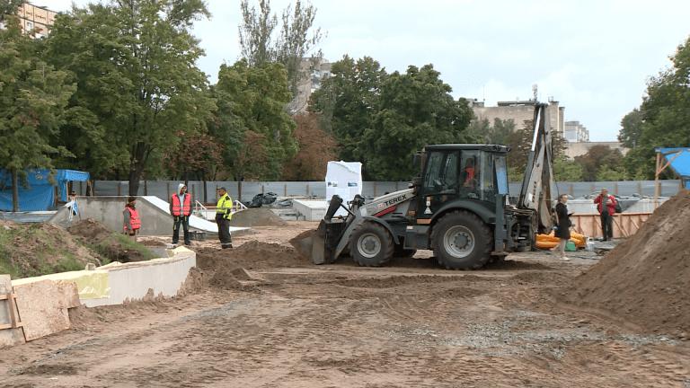 Перший дніпровський скейт-парк будують на лівому березі